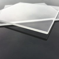 Factory Supply High Quality Industrial Quartz Plate 105mm Square 3mm Thick Glass Piezoid Sheet for Many Uses