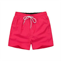 Wholesale black leopard swimwear online - Summer Men Short Pants Brand Clothing Swimwear Nylon Men Brand Beach Shorts Small horse Swim Wear Board Shorts