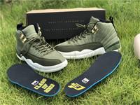 263617b642c078 2018 12 Chris Paul Class Of 2003 Graduation Pack Cp3 Olive Canvas Sail  Black-Metallic Gold Man Basketball Shoes Sneakers Real Carbon Fiber