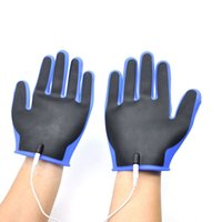 Wholesale orgasm penis for sale - Group buy Electro Sex Silicone Gloves Penis Orgasm Stimulator Electric Shock Products Medical Electro Shock Sex Toys for Men