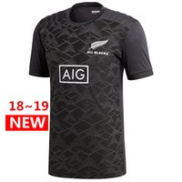 Wholesale new zealand clothing online - Hot sales Best Quality All Blacks Performance T Shirt New Zealand Super Rugby Jerseys All Blacks jersey Casual clothes s xl