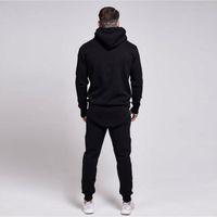 Wholesale xl suits for men for sale - Group buy Brand Designer Men s gyms Kanye West Sik Silk Hoodies Jackets for men s Sweatshirt casual men s Bodybuilding leisure suit Breathable