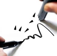 стили для кошачьего глаза оптовых-Новый Черный Карандаш Для Глаз Жидкий Карандаш Карандаш Для Глаз Штамп Длительный Кошачий Глаз Новый Стиль Крыла Глаза Карандаши Макияж Глаз Лайнер Марки