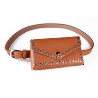 pasadores usados al por mayor-Cinturón de cintura de doble uso Cinturón de cuero PU de la PU Cinturón de hebilla Cinturón de hebilla con monedero desmontable