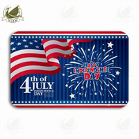 Wholesale american flag carpet for sale - Group buy Vixm We Will Not Forget The American Flag Map Welcome Door Mat Rugs Flannel Anti slip Entrance Indoor Kitchen Bath Carpet