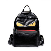 Wholesale casual teenager - Luxury Backpack Famous Designer Women Men Travel Backpack Casual Student School Bags Teenagers High Quality Moster Cute Shoulder Bags