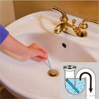 Wholesale free bathtub - 2018 New Sani Sticks Sewage Decontamination To Deodorant The Kitchen Toilet Bathtub Drain Cleaner Sewer Cleaning Rod Free DHL XL-463