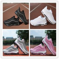 Wholesale Max Edition - New Maxes 97 Running Shoes Cushion Men OG Silver Gold Anniversary Edition Sneakers Man Maxes Athletic Sports Trainers Shoes size 36-46