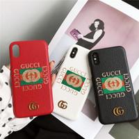 g мобильные телефоны оптовых-3 цвета блеск буква G чехол для мобильного телефона чехол для iphone X 7 7plus 8 8plus 6 6plus 6S марка жесткий задняя крышка