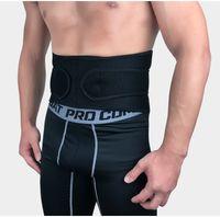 protector elástico de la cintura al por mayor-Hombres Levantamiento de pesas Cintura Trimmer Cinturón Elástico Cómodo Cintura Entrenador Ejercicio Cinturón Protector Gear Protección de espalda Ajustable H727F