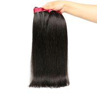 perulu yaki saç toptan satış-Perulu Kinky Düz Bakire Saç 8A Perulu Kaba Yaki Perulu İnsan Saç Dokuma Paketler İtalyan Yaki Düz