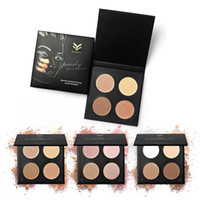 Wholesale contour palette matte for sale - Group buy New China Brand HUAMIANLI Face contour Palette colors Multifunctional Highlighter Powder Pearly lustre Matte High quality DHL shipping