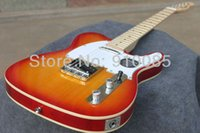 Wholesale high quality new electric guitar resale online - New Arrive HOT High Quality guitar Ameican telecaster electric Guitar in stock