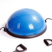 Wholesale yoga ball 75cm - Fitness Hemisphere Bosuball Wave Velocity Semicircular Balance Yoga Balls Environmental Raw Materials Enhance The Sense Of Balance 140rd W