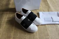 kauçuk kadın gerçek toptan satış-Moda marka tasarımcı ayakkabı adam kadınlar için fantezi düşük üst gerçek deri kauçuk taban yaz kış tasarımcısı sneakers ile kutusu boyutu 35-46