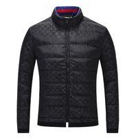 ingrosso migliori giacche da uomo-Miglior fashion19 designer di lusso di marca mens abbigliamento giacca lunga giacca manica lunga da uomo di alta moda tendenza semplice moda M-3XL