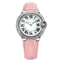 часы наручные оптовых-Марка Рим кристалл алмаза кварцевые Модные женские часы подарок дамы браслет часы mujer воздушный шар стиль reloje