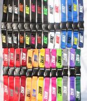 halshalter für handys großhandel-2018 Neu! Die meistverkauften 27 Farben! Unter Lanyard Keychain Key Chain ID Badge Handyhalter Neck Strap versandkostenfrei