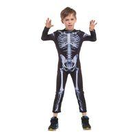 Wholesale anime skeleton costume online - Costumes Carnival halloween skeleton costumes for kids boys boy kids girls child children party anime party fancy dress demon
