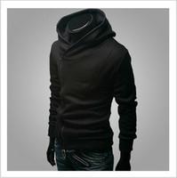 suikastçiler inançlı hırka toptan satış-Ücretsiz kargo 2018 Sonbahar Kış Erkekler Marka Moda Rahat Ince Hırka Assassin Creed Hoodies Kazak Giyim Ceketler