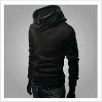 free assassins creed hoodie großhandel-Freies verschiffen 2018 Herbst Winter Männer Marke Mode Lässig Dünne Strickjacke Assassins Creed Hoodies Sweatshirt Oberbekleidung Jacken
