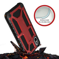 Wholesale Military Shockproof Cases Iphone - Armor Hybird Rugged Robber Defender Case Military Drop Tested Shockproof For iphone X 8 7 6s plus Samsung S8 Plus Note 8 OPPBAG