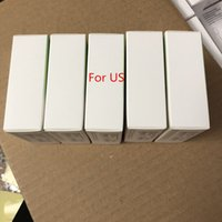 Wholesale iphone wall box - AAAA++ OEM Quality 5W 5V 1A US EU Plug USB AC Power Adapter Charger Wall Adapter charging A1385 A1400 With retail box
