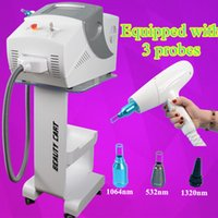Wholesale tattoos removal price - 5 million shots nd yag laser price pigment tattoo removal machine black doll treatment beauty equipment