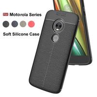 z2 telefonu toptan satış-Motorola Moto için E5 E4 G6 G5S G4 C Artı Z2 Z3 Oynamak X4 Yumuşak Silikon Slim Case Şok Proof Geri Telefon Kapak