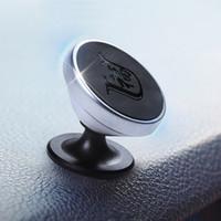iphone için emiş aparatı toptan satış-monte cep telefonu desteği pano mıknatıs araba yeni stil için çıkış manyetik emme ve navigasyon desteği KULLANıMı