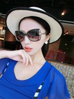 Wholesale Vogue Mix - Top sell vogue Female hollow out cc stylish sunglasses diamante designer women brand designer sun glasses 5344 AAA+++