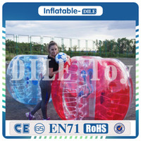 Wholesale hot toys soccer online - Hot Outdoor Toys Inflatable Bumper Ball Bubble Soccer PVC High Quality M Human Hamster Ball