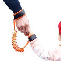 çocuklar bebek koşum takımı toptan satış-Ayarlanabilir Çocuklar Emniyet Kemeri Çocuk Bilek Tasma Anti-kayıp Bağlantı Çocuk Kemer Yürüyüş Yardımcısı Bebek Yürüteç Bileklik 1.5 M / 2.5 M