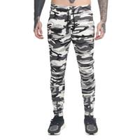 ingrosso pantaloni dell'esercito invernale-2018 Autunno Inverno uomo vestiti pantaloni sexy pantaloni mimetici Joggers Army maschio pantaloni pista Hip Hop
