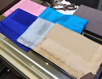 Wholesale floral designs patterns - Top qualtiy Luxury Brand cotton Scarf women Brand Scarves brand long letter pattern design Scarf women Shawls size 180x70cm Ab-2235