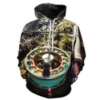 tierdruck-sweatshirts für frauen großhandel-Hoodie-Fisch-Art-Streetwear-dünner Sweatshirt der lustigen Männer 3d striped Bass gedruckte Kleidungs-Mann-Frauen-Tier-Kapuzenpullis Dropshipping