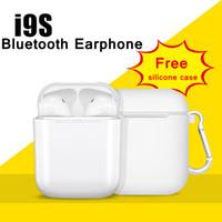 ingrosso earbuds di migliore qualità-Luxury Wireless Bluetooth i9s TWS Sport Twins Auricolari Auricolare con scatola di ricarica per tutti i telefoni PK i7s Afans i8x V8 Migliore qualità