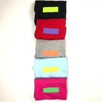 kastenhülsen großhandel-18ss BOX LOGO Mode T Neue Trend Candy Farben T-shirt Kurzarm Baumwolle T Männer Frauen Sommer Hohe Qualität T-shirt HFWPTX112