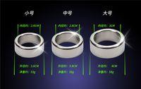 головные устройства оптовых-3 шт. / лот 26/28 / 30 мм головки пениса кольца гладкая нержавеющая сталь петух кольцо мужской целомудрие устройство пенис рукав секс-игрушки для мужчин