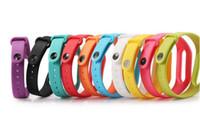 accesorios inteligentes portátiles al por mayor-Silicona Color usable Miband 2 Sustitución de la correa de reloj para Xiaomi Mi banda 2 venda de la pulsera de la correa inteligente correa Accesorios in Smart Band