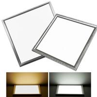 painéis led de escritório venda por atacado-Luz de teto conduzida ultra fina 8W do painel 12W 18W 300X300 integrou as lâmpadas encaixadas do painel de parede do teto para o escritório do banheiro da cozinha