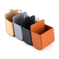 ingrosso casi di appendere iphone-Funzionale Auto Car Outlet Sedile Posteriore Tidy Storage Coin Bag Case Pocket Organizer Hanging Holder Pounch Box per Iphone