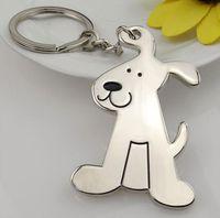 kirsite metal toptan satış-Karikatür köpek kirsite metal Anahtarlıklar Anahtarlık Charm Kolye