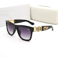 precios bajos gafas de sol al por mayor-Venta caliente Famosa marca de gafas de sol con logotipo 426 mujeres hombre metal marco espejo gafas de sol de alta calidad bajo precio gafas de conducción