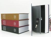 Wholesale Books English - Wholesale-Metal Steel Cash Secure Hidden English Dictionary Booksafe Homesafe Money Box Coin Storage Books Safe Secret Piggy D0829