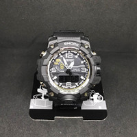 Wholesale digital hours - 2018 Mens Military G Style Watches LED Analog Dual Display Quartz Wristwatches Ourdoor Sport Mens Male Watches Clock Hours relogio masculino