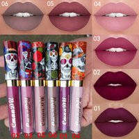 Wholesale army green lipstick for sale - Group buy 2018 new Cheap price Top Quality New Makeup CmaaDu Matte colors Liquid lipstick Waterproof and long lasting