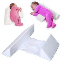 yenidoğan rulo yastık toptan satış-Anti Rulo bebek yastık yenidoğan uyku yastık kafalık düz pozisyon önlemek için uyku pozisyoner anti-roll yastık Bebek yatak