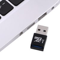 lectores de tarjetas al por mayor-Para Windows Mac Super Speed MINI 5 Gbps USB 3.0 Adaptador de lector de tarjetas Micro SD / SDXC TF