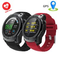 Wholesale Running Watches Heart Rate - Smart Watches GPS Smartwatch Pedometer Heart Rate MTK2503 1.3'' Watch Running Support SIM TF Card S958 Sports G05 Wristwatch